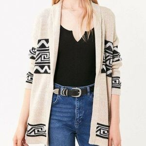 Urban Outfitters Ecoté Oversized Shawl Neck Cardi